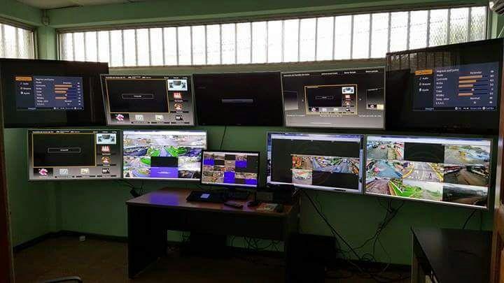 Imagen del Centro de monitoreo